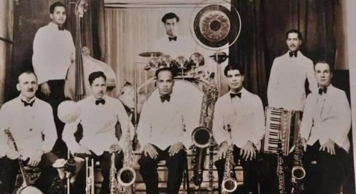 Correa's Optimists Swing Band, 1928, Karachi.
